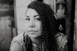 meeka in black and white